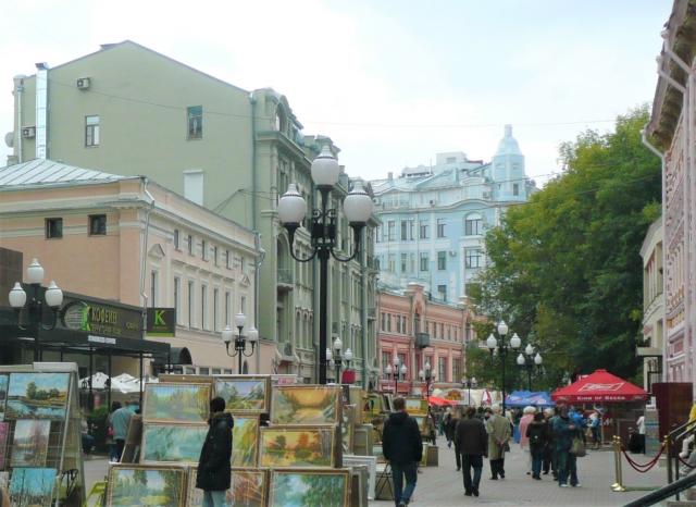 モスクワの街並み